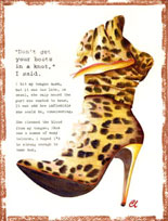 Claudia Lynch ShoeStories - Leopard Boot