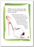 Claudia Lynch ShoeStories - Candy Cane Shoe Card